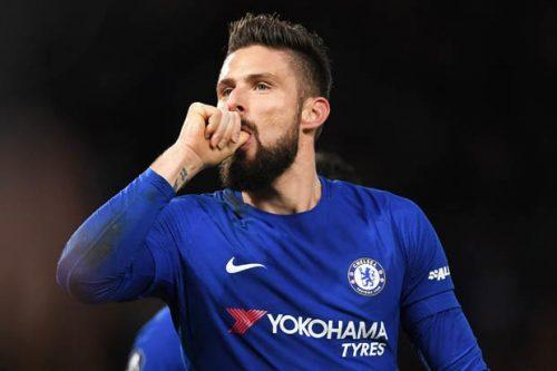 Olivier Giroud Confident of Chelsea Win Over Barcelona in Champions League
