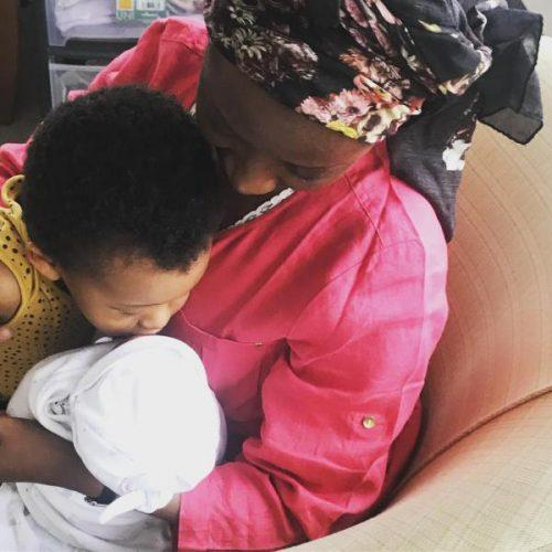 Dija Announces The Birth Of Her Second Child Reveals She Was In Labour During A Photoshoot