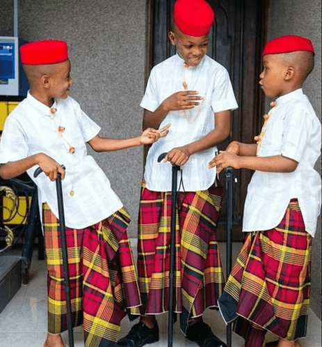 See Top Designs of Igbo Native Attire for Children (Photos)