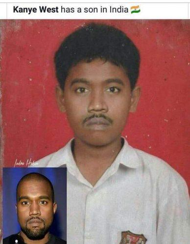 Kanye West might have a son in India