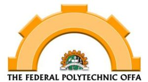 Fed Poly Offa HND Full-Time Admission 2018/2019 Announced