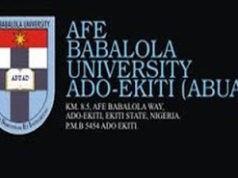 ABUAD Postgraduate Admission Form 2018/2019