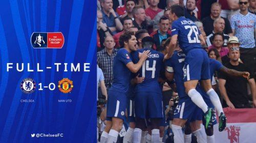 Video Chelsea vs Manchester United 1-0 – Highlights & Goals