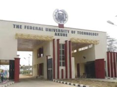 FUTA 2018/2019 Pre-degree Science Admission Announced