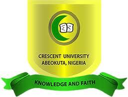 Crescent University Post UTME / Direct Entry Screening Form 2018/2019