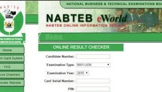 NABTEB 2018 Nov/Dec GCE Registration Details