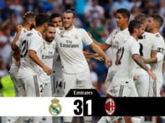 Real Madrid vs Ac Milan 3-1 Highlights