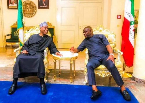 Rivers State Governor, Nyesom Ezenwo Wike, has called on Senate President Bukola Saraki to stand firm in defence of the country's democracy and the rule of law.