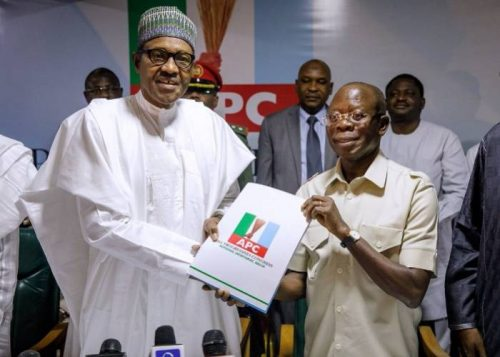 President Muhamnadu Buhari has appealed to members of the All Progressives Congress(APC) not to be complacent but to prepare, strategise and win 2019 elections, to prevent the Peoples Democratic Party from taking Nigeria backwards.