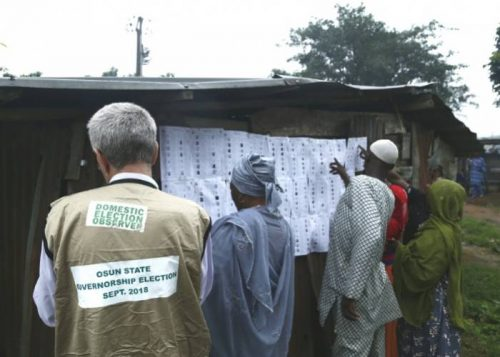 YIAGA Africa, a Civil Society Organsiation, says Saturday's governorship election in Osun is an improvement on previous polls.
