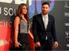 Lionel Messi's Wife Supports Him As He Attends Movie Premier About Himself (Photos)