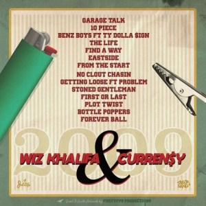 Lyrics-10 Piece Song-Wiz Khalifa & CurrenSy