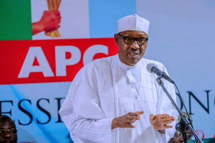 President Buhari attends APC Caucus Meeting at the APC Headquarters in Abuja on 18th Feb 2019-4