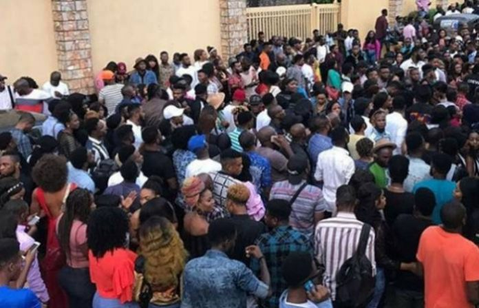 Several aspirants at the ongoing audition for the fourth season of the TV reality show, Big Brother Naija(BBNaija), holding at the Lagos centre on Friday expressed mixed feelings on whether they would scale the hurdle or not.