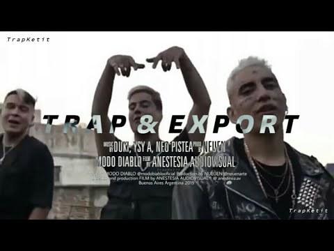 Letra de la canción de Trap n export de Duki