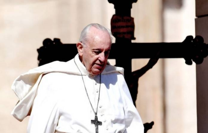 "Pope Francis on Sunday urged EU leaders to show ""concrete solidarity"" with 49 migrants stranded on NGO ships off the coast of Malta who have been refused permission to land."