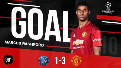 PSG vs Manchester United 1-3 Champions League Highlights And Goals