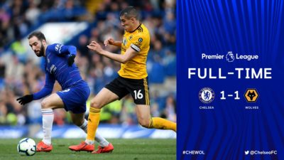 Chelsea vs Wolves 1-1 Highlights And Goals