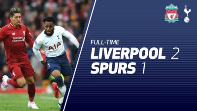 Liverpool vs Tottenham 2-1 Highlights And Goals