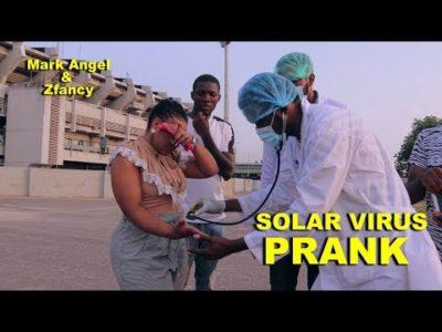 SOLAR VIRUS PRANK With Mark Angel And Zfancy