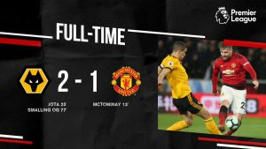 Wolves vs Manchester United 2-1 Highlights And Goals