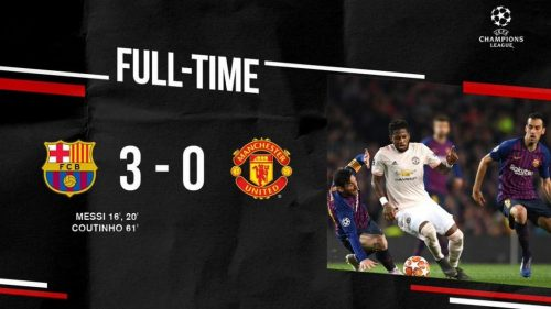Barcelona vs Manchester United 3-0 Highlights And Goals