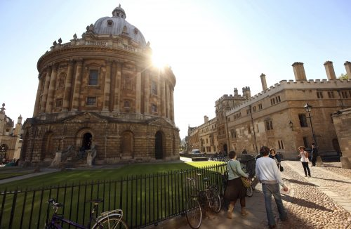 St Cross International Scholarships at the University of Oxford in the UK