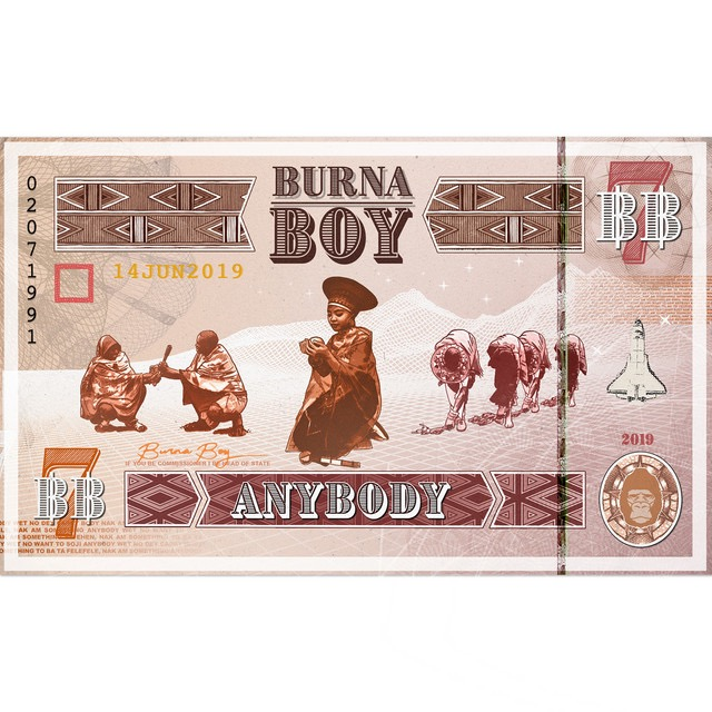 Lyrics of AnyBody By Burna Boy