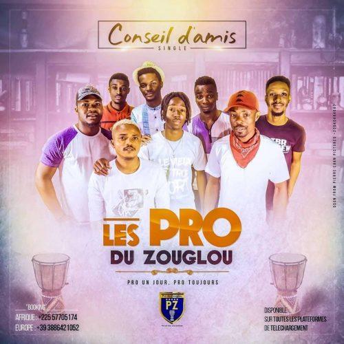 Conseil D'ami - Les Pro du zouglou Lyrics