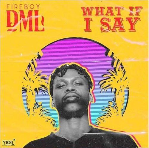 Fireboy DML - What If I Say Lyrics