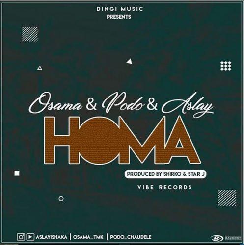 Osama, Podo ft Aslay - Homa Lyrics