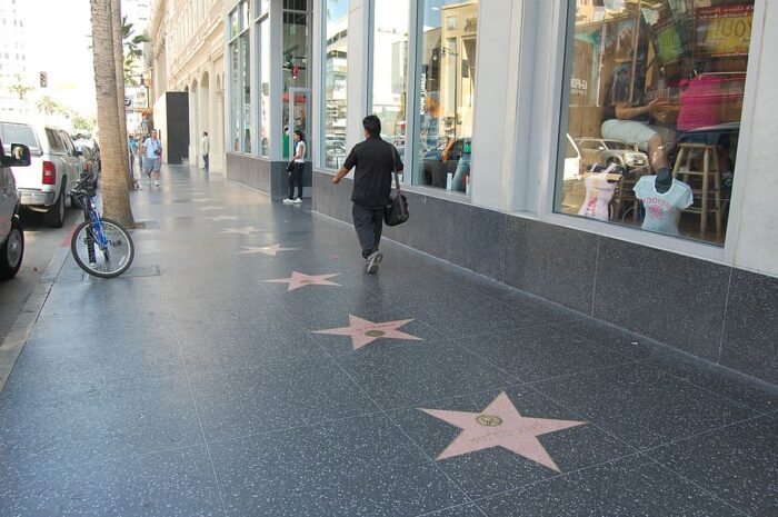 Ex-football legend Terry Bradshaw earned himself a star on the Hollywood Walk of Fame back in 2001