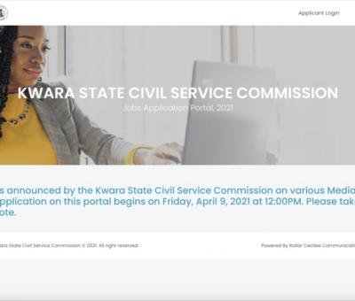 www.kwaracscjobportal.com Application Portal Login | Kwara State Civil Service Website for Recruitment 2021 : Recruitment Beam